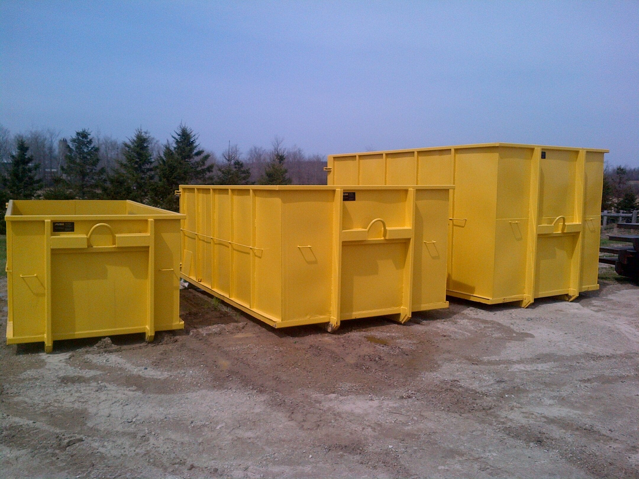 Manser Welding Hook Lift Bins Waste Management Bins